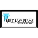 Best Law Firms of America Lifetime Member